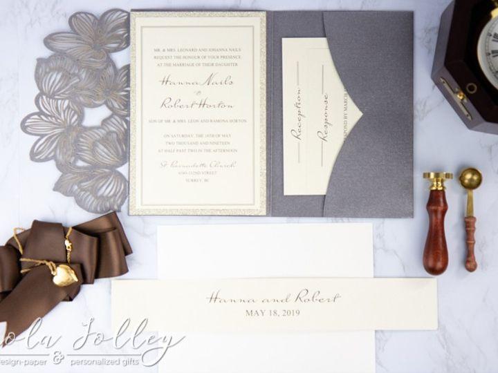 Tmx Logo Paola Jolley Designs Wedding Invitation Orlando 6005 51 1046307 158741637695445 Orlando, FL wedding invitation