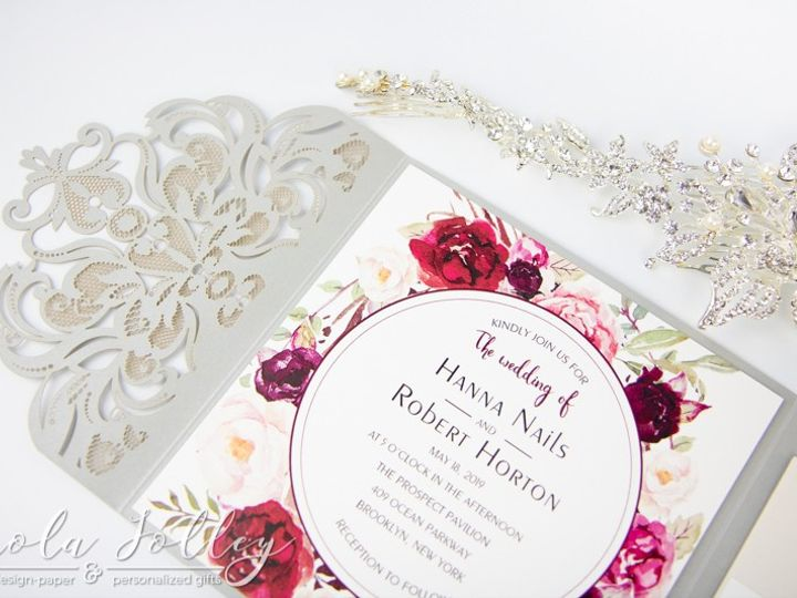 Tmx Logo Paola Jolley Designs Wedding Invitation Orlando 6319 51 1046307 158741665823191 Orlando, FL wedding invitation