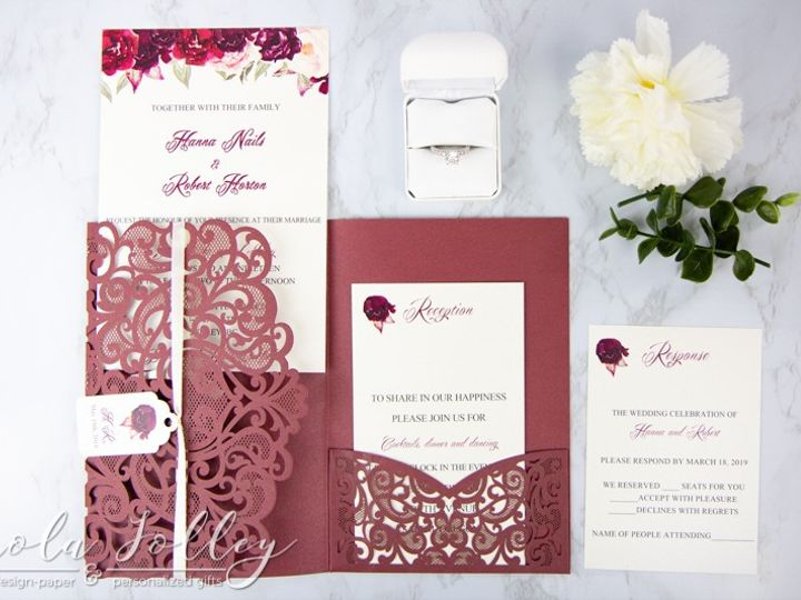 Tmx Logo Paola Jolley Designs Wedding Invitation Orlando 6391 51 1046307 158741675655427 Orlando, FL wedding invitation