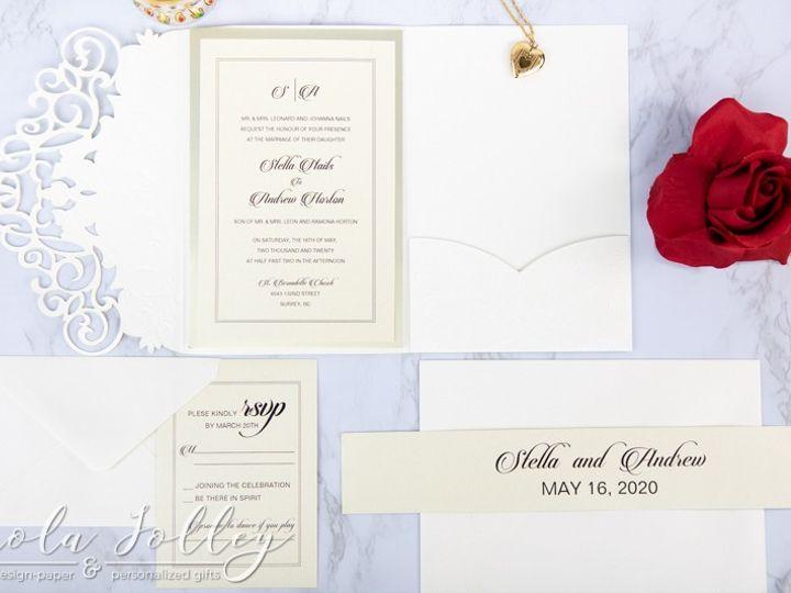 Tmx Logo Paola Jolley Designs Wedding Invitation Orlando 6485 51 1046307 158741693163488 Orlando, FL wedding invitation