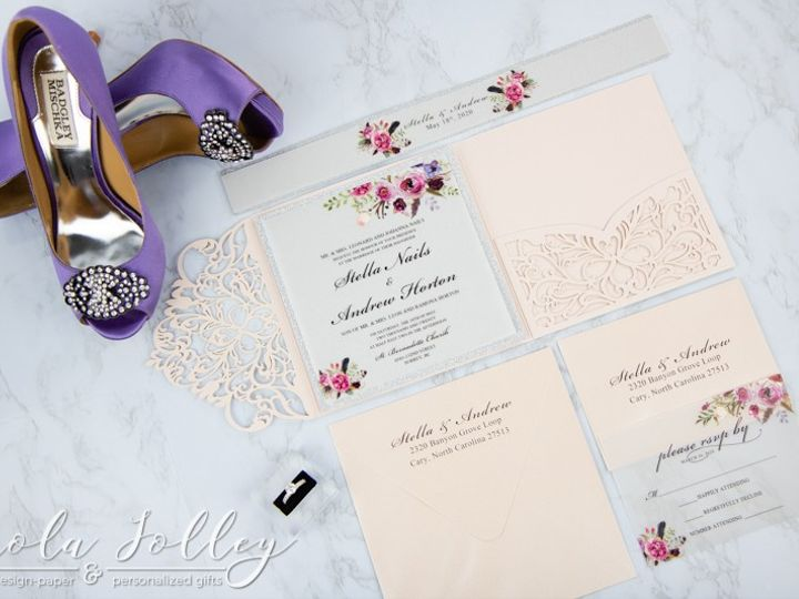 Tmx Logo Paola Jolley Designs Wedding Invitation Orlando 6729 51 1046307 158741684038277 Orlando, FL wedding invitation