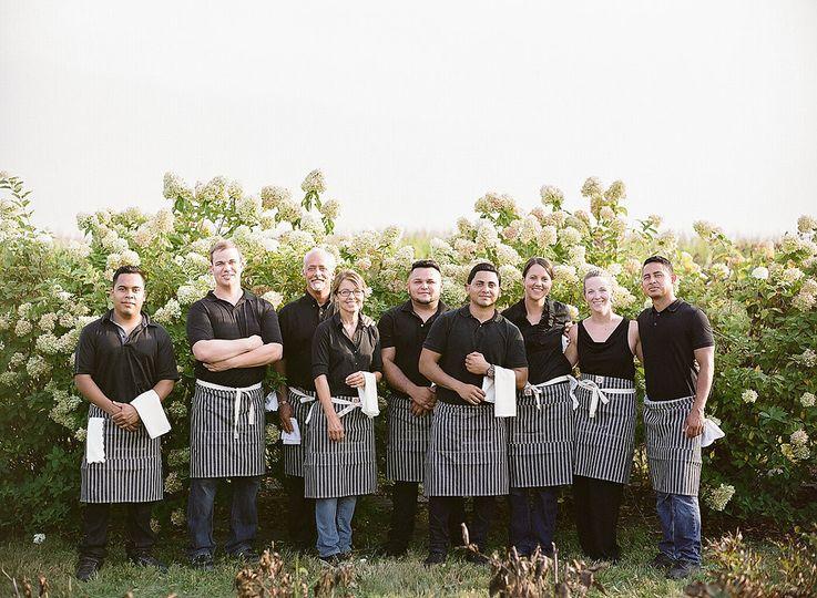 Bluewater Kitchen staff