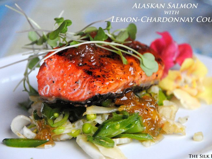 Tmx 1511850156006 Alaskan Salmon With Lemon Chardonnay Coulis Missoula, MT wedding catering