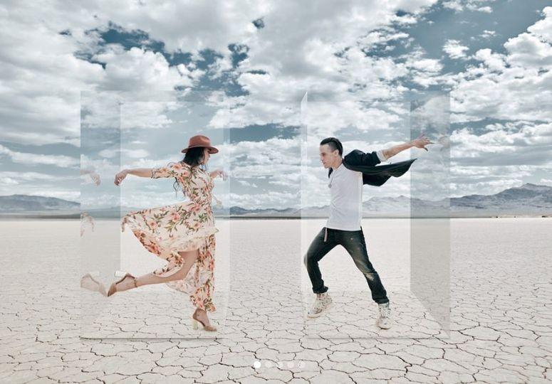 Lovely dance couple