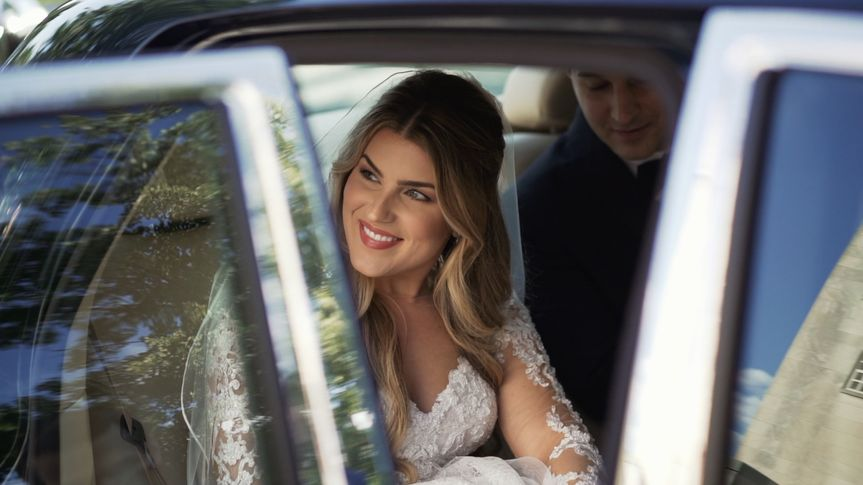 alexandra and michael pantelides wedding in getaway car 51 1010407