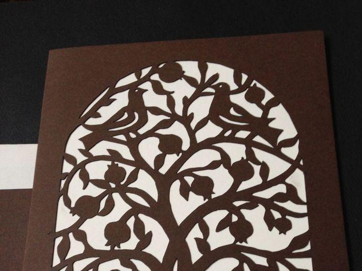 Tmx 1421255397779 Tree Of Life Papercut   Mosaica Philadelphia, Pennsylvania wedding invitation