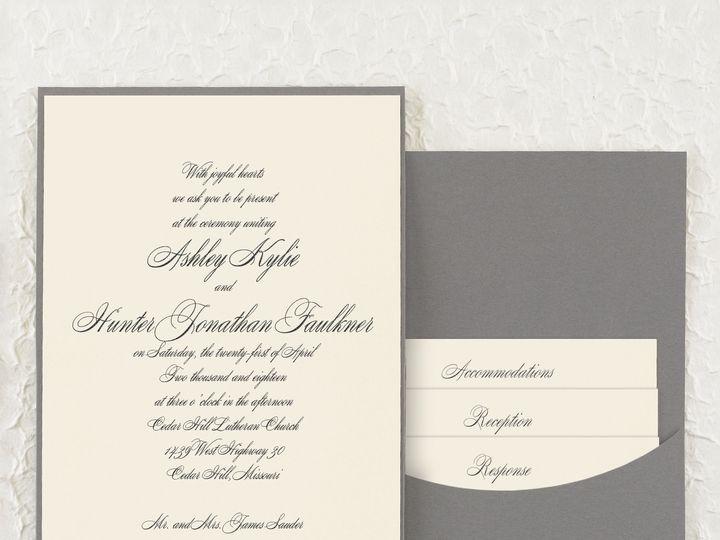 Tmx 1471480243832 Joyful Details Back Pocket Invitation Philadelphia, Pennsylvania wedding invitation