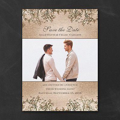 Tmx 1471480252601 Sweet Rustic Photo Save The Date Philadelphia, Pennsylvania wedding invitation