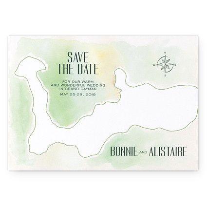 Tmx 1471480521072 Tropical Chinoiserie Save The Date Cards Philadelphia, Pennsylvania wedding invitation