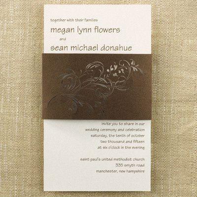 Tmx 1476553311725 Wrapped Latte Shimmer Philadelphia, Pennsylvania wedding invitation