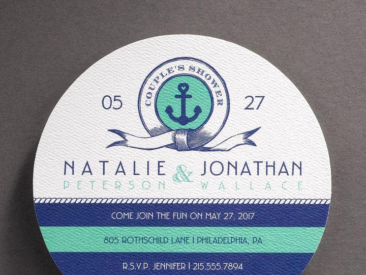 Tmx 1483630919557 Ahoy Mates Philadelphia, Pennsylvania wedding invitation