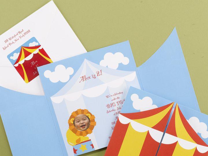 Tmx 1483630941837 Big Top Bash Philadelphia, Pennsylvania wedding invitation