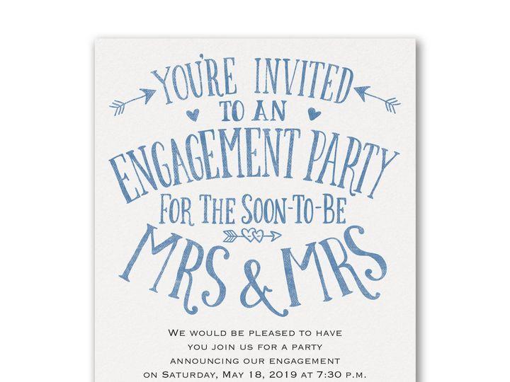 Tmx 1529089462 F9e509e7c203853f 1529089460 C9d134ae99e8ccd2 1529089460219 1 Almost Mrs. And Mr Philadelphia, Pennsylvania wedding invitation