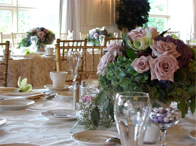 Sweet table setup