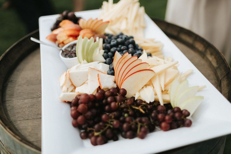 Stationed appetizers