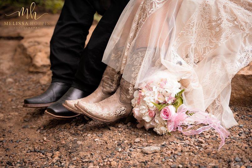 Matching boots