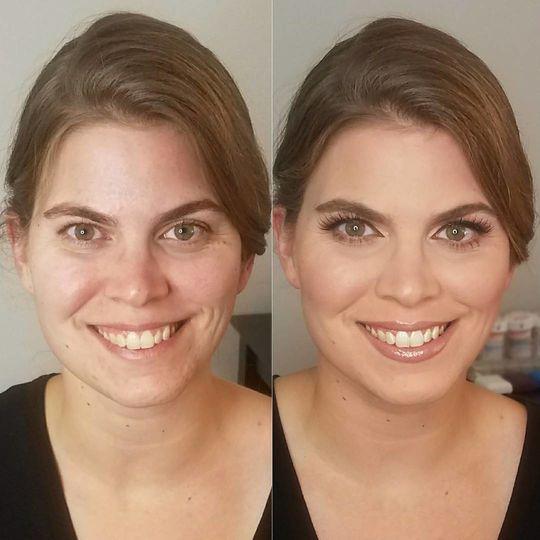 Simple but elegant makeup look