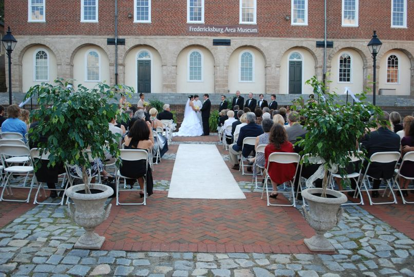Wonderful ceremony space.