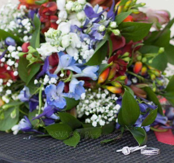 Eye-catching florals