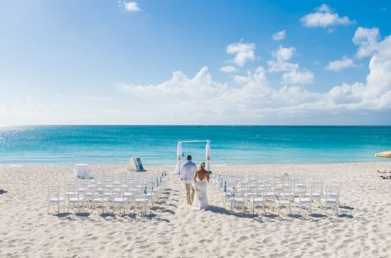 Beach Ceremony Set up     ( 100 Guests)