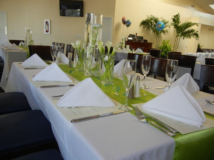 Tmx 1459174265046 Rectangle Table Setting Lake Worth, Florida wedding venue