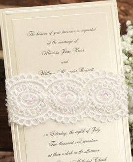 charming mocha invitation