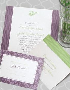 classic lux invitation