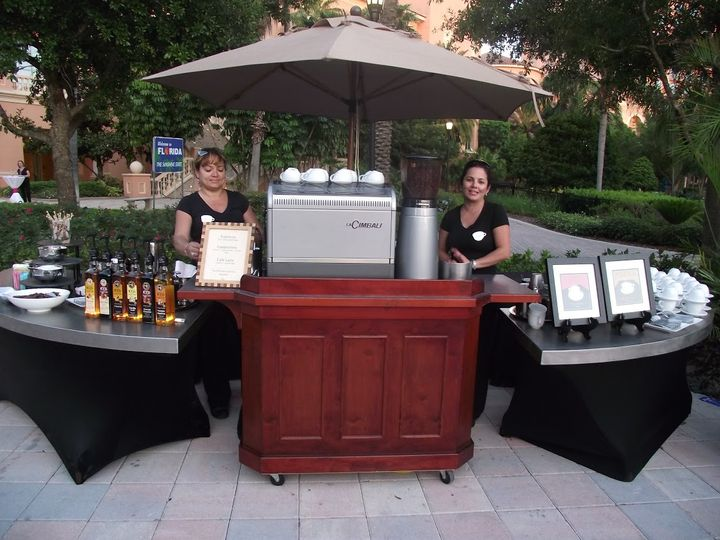 Tmx 220volt Outside Traditional Espresso Bar 51 1053407 Orlando, FL wedding catering