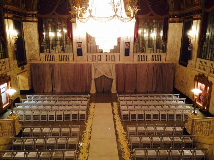 Grand foyer set-up