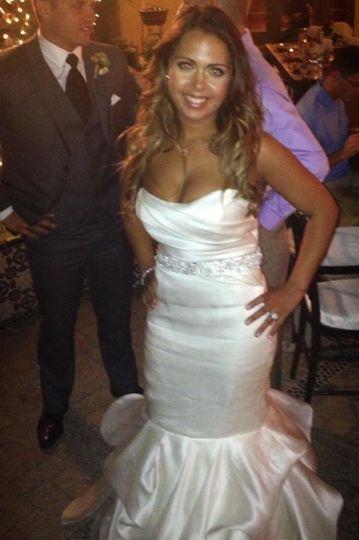 The beautiful bride Christina!