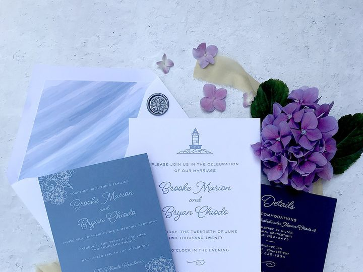 Tmx Img 1922 51 1894407 159572694523104 Westport, CT wedding invitation