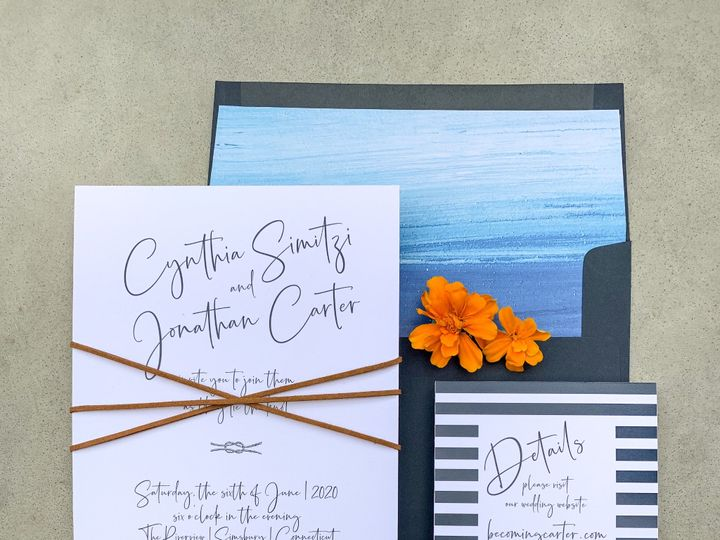 Tmx Img 3720 51 1894407 1572989523 Westport, CT wedding invitation