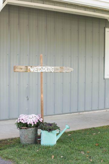 Wedding directions