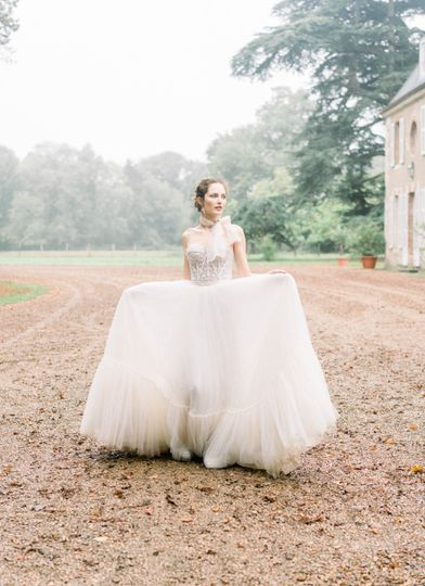 Morning Bridals in the Rain