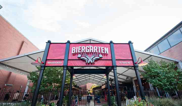 Anheuser Busch Biergarten