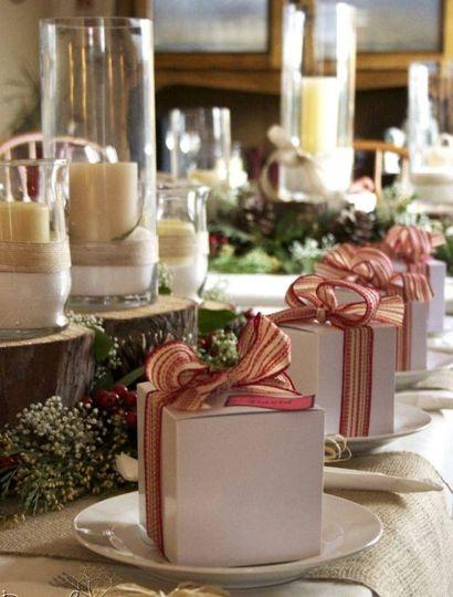 Wedding tablescape