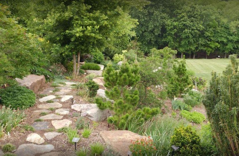 Paul J. Ciener Botanical Garden landscape