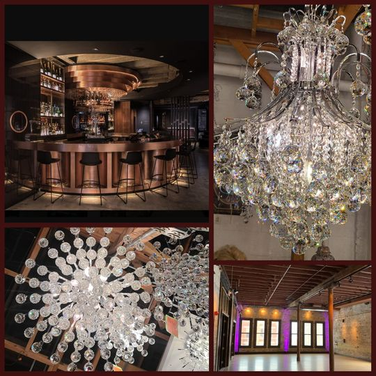New Bar/Chandeliers coming