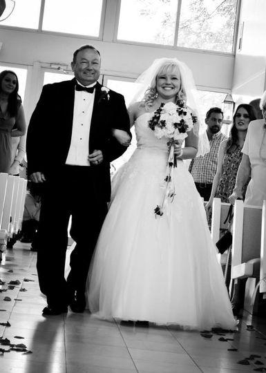 Wedding processoion