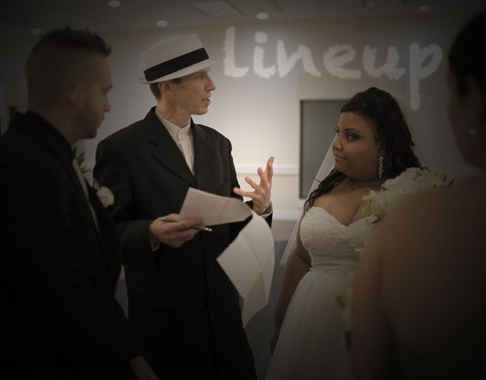Wedding lineup