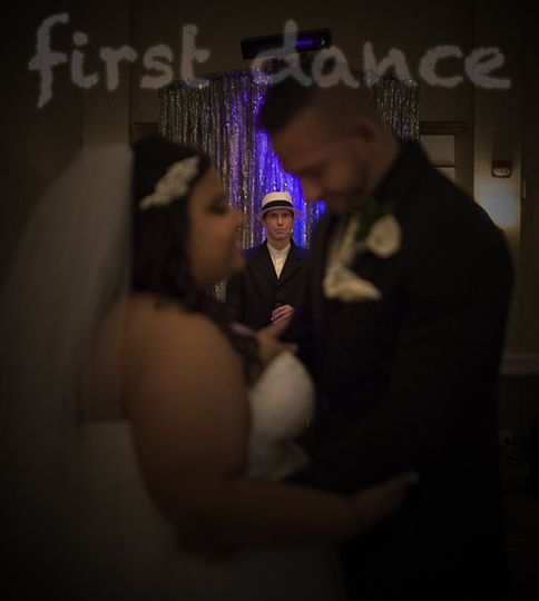 Couples' first dance