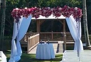 Tmx 1435952892320 4 Post Mahogany Chuppah Fort Myers, FL wedding rental