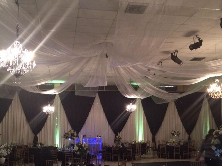 Tmx 1464115053608 Pipe And Drape Black And White Fort Myers, FL wedding rental