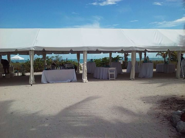 Tmx 1517943668 Bd0512a0e7d828ff 1517943667 7d0586c349fd633a 1517943668414 15 Tent With Draped  Fort Myers, FL wedding rental