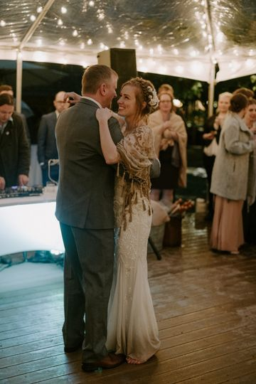 The wedding dance |Photo by Kristen Marie Parker