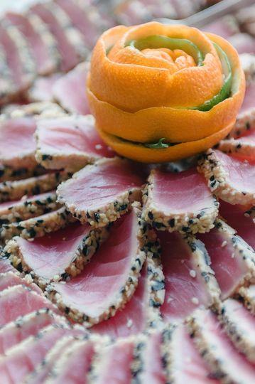 Ahi Tuna Display