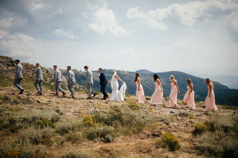 Wedding Party at Deer Valley