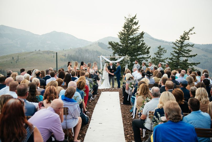 Cushing's cabin wedding
