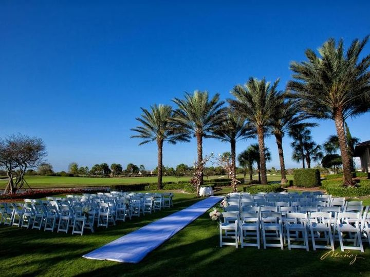Tmx 1384816691841 Ceremony At The Palm Parkland, FL wedding venue