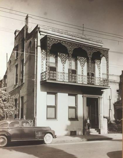 Circa 1940 historic photo